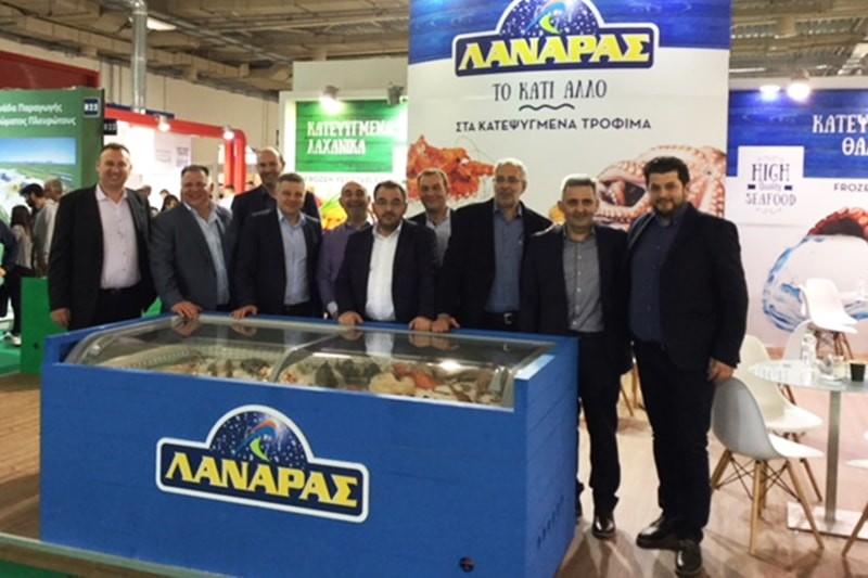 H Αφοί Ι & Σ Λαναράς ΑΒΕΕ στη Foodexpo 2018